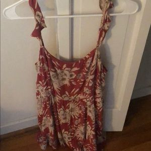 Urban Outfitter's floral romper